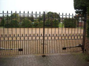 Charlton Ironworks - Double Driveway Gate